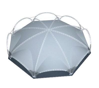 Металлоконструкции для арочных шатров