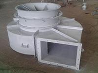 Диффузоры за дымососами и вентиляторами горячего дутья