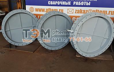 Круглые газоплотные клапаны ПГВУ