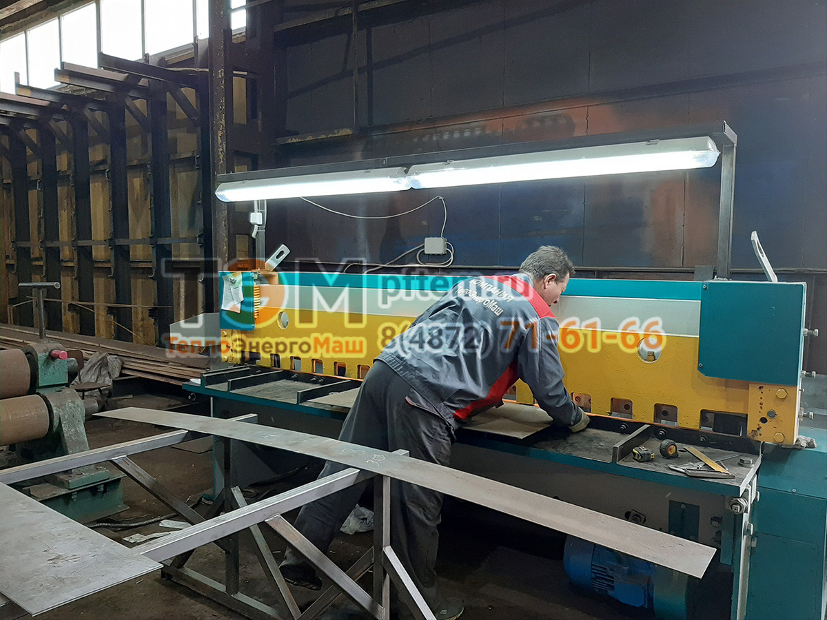 Резка металла на производстве ПФ ТЭМ