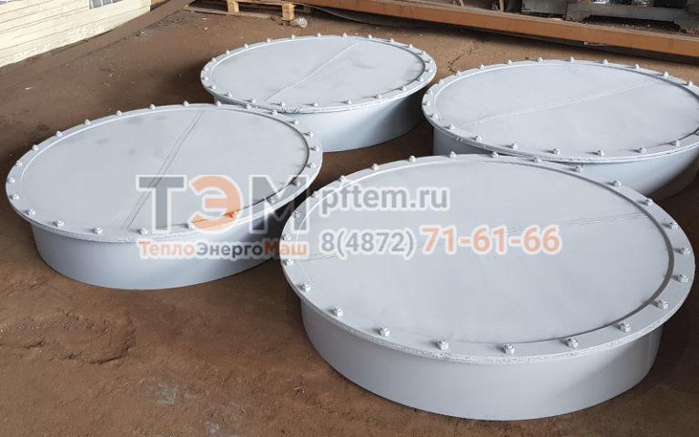 Круглые предохранительные клапаны (взрывные) ПГВУ и ОСТ
